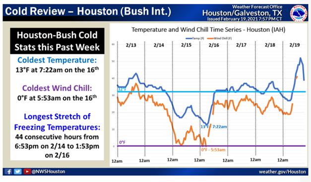 Cold Review - Houston (Bush Int.)