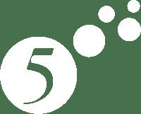 5-logo-white